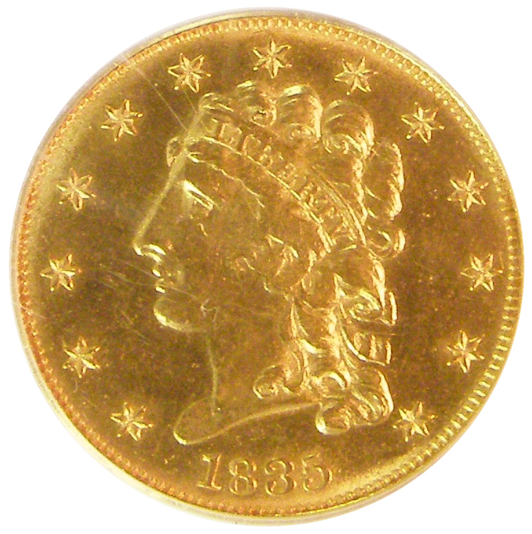 Half Eagle Gold Coin US Gold Coins For Sale From US Rare ...